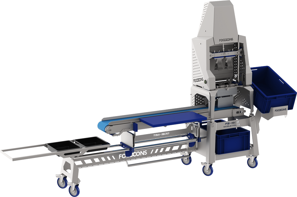 Machines for vegetables