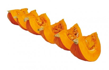 Pumpkins wedges