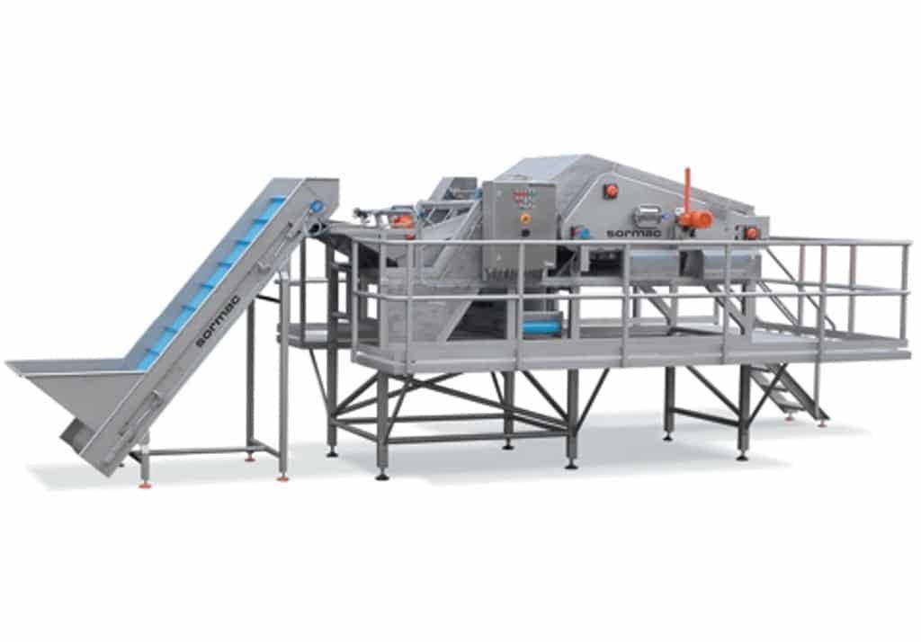 Automatische Karottenköpfer WOA von Sormac - FOODCONS
