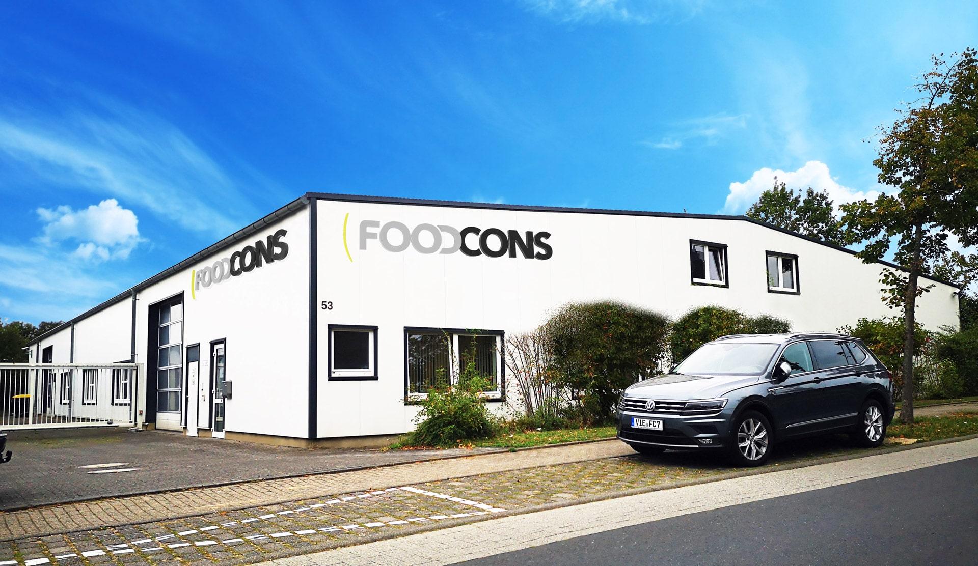 FOODCONS Firmengebäude