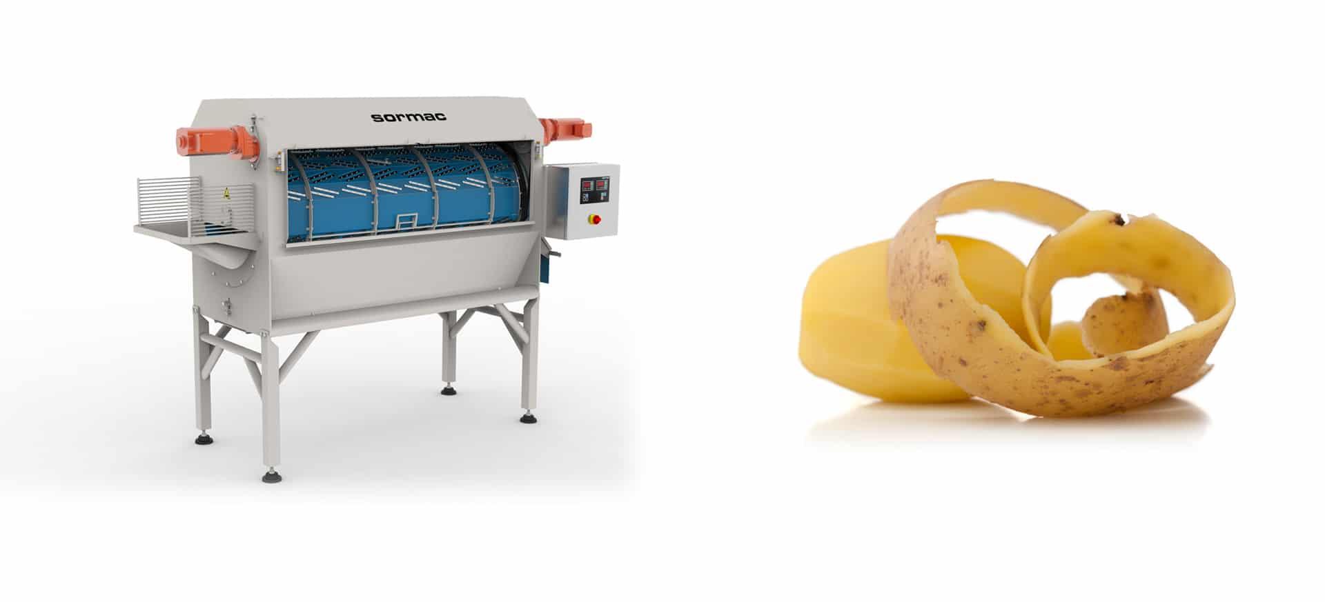 Slider Messerschälmaschinen Kartoffelschälmaschinen - FOODCONS