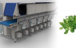 Slider Trockentunnel für z.B. Salat - FOODCONS